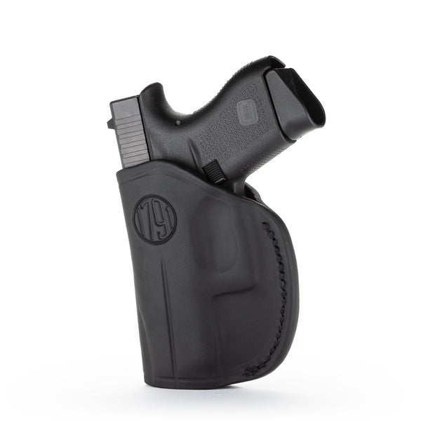 2 Way Holster Stealth Black Right Hand Size 2