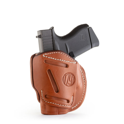 3 Way Holster Classic Brown Size 2