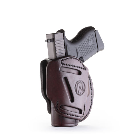 3 Way Holster Signature Brown Size 2
