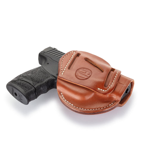 3 Way Holster Classic Brown Size 3