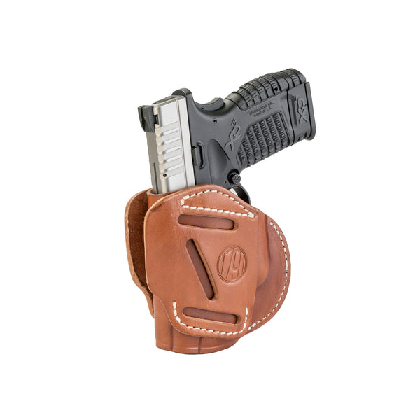 3 Way Holster Classic Brown Size 4