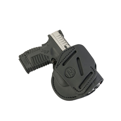 3 Way Holster Stealth Black Size 4