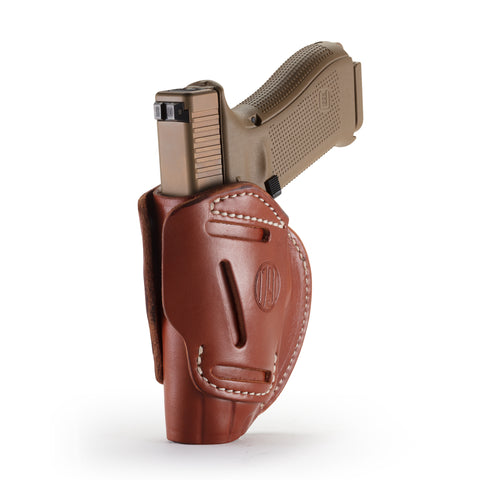 3 Way Holster Classic Brown Size 5