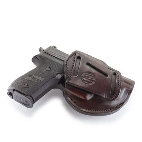 3 Way Holster Signature Brown Size 5