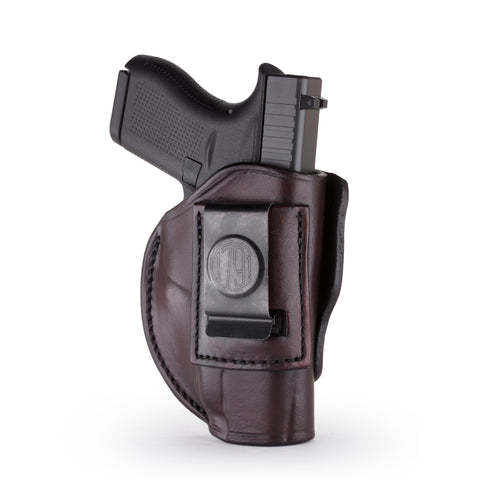 4 Way Holster Right Hand Size 1 Signature Brown