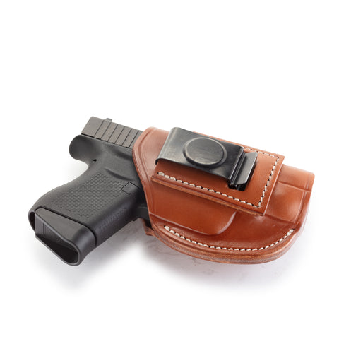 4 Way Holster Right Hand Size 2 Classic Brown