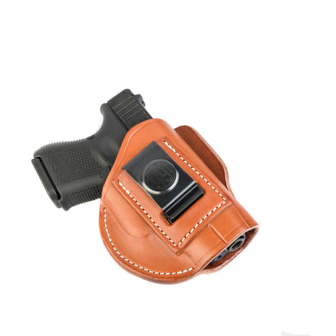 4 Way Holster Right Hand Size 3 Classic Brown