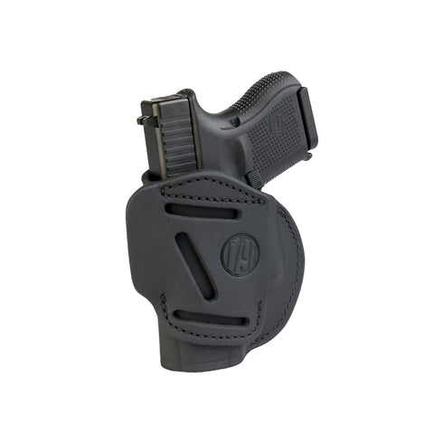 4 Way Holster Right Hand Size 3 Stealth Black