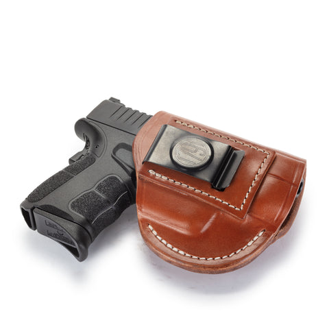 4 Way Holster Right Hand Size 4 Classic Brown