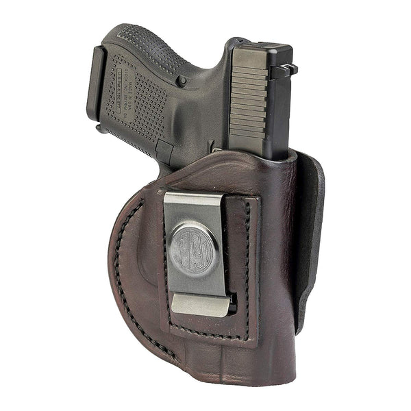 4 Way Holster Right Hand Size 4 Signature Brown