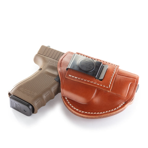 4 Way Holster Right Hand Size 5 Classic Brown