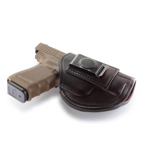 4 Way Holster Right Hand Size 5 Signature Brown