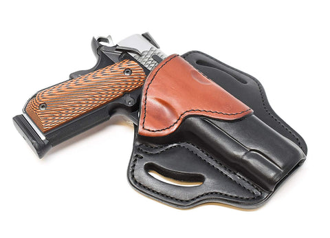 BH1 Holster One Size Brown on Black Right Hand