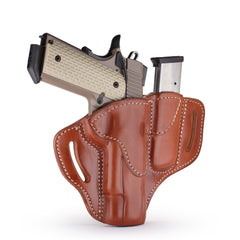 BH1 MAG1.1 Combo Belt Holster One Size Classic Brown Right Hand