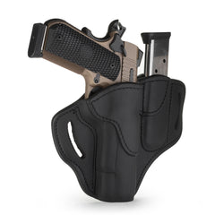 BH1 MAG1.1 Combo Belt Holster One Size Stealth Black Left Hand