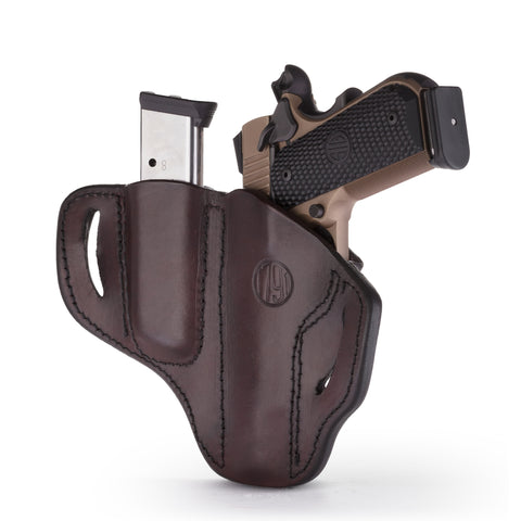 BH1 MAG1.1 Combo Belt Holster One Size Signature Brown Right Hand