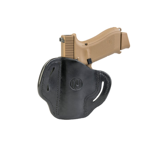BH2.1 Holster One Size Brown on Black Right Hand