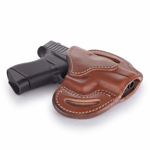 BHc Compact Holster Classic Brown Right Hand