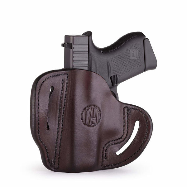 BHc Compact Holster Signature Brown Right Hand