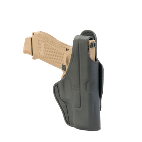 3 Way Holster Thumb Break Size 3 Stealth Black Left Hand