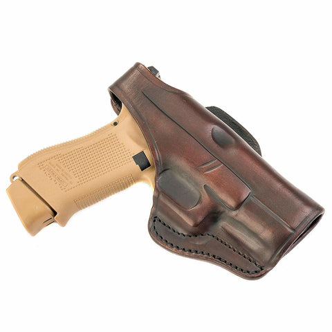 3 Way Holster Thumb Break Size 3 Signature Brown Right Hand