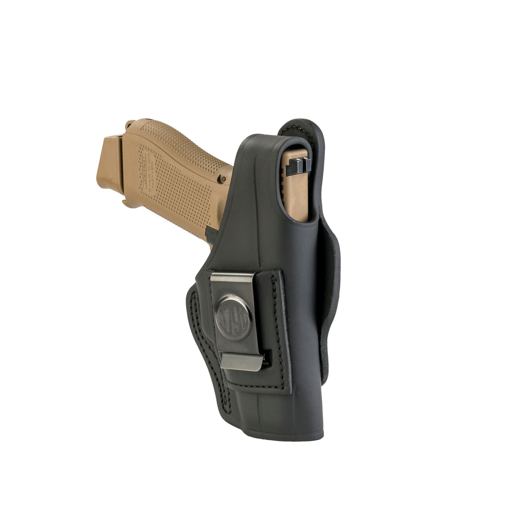 4 Way Holster Thumb Break Size 4 Stealth Black Left Hand