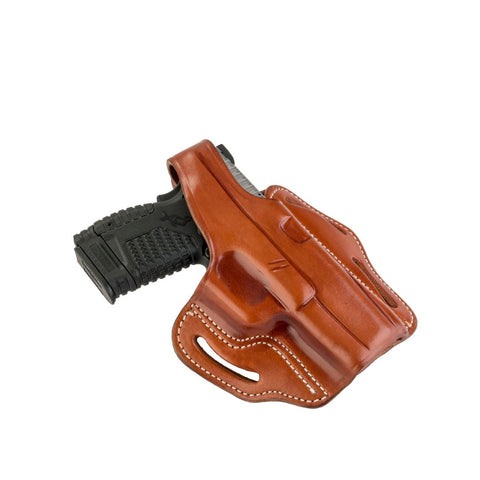 BHx Thumb Break Belt Holster Size 3 Classic Brown Right Hand
