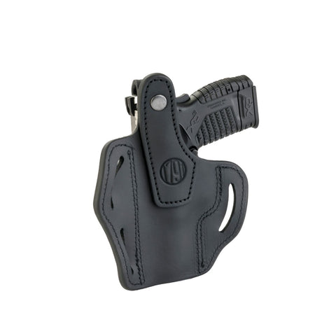 BHx Thumb Break Belt Holster Size 3 Stealth Black Left Hand