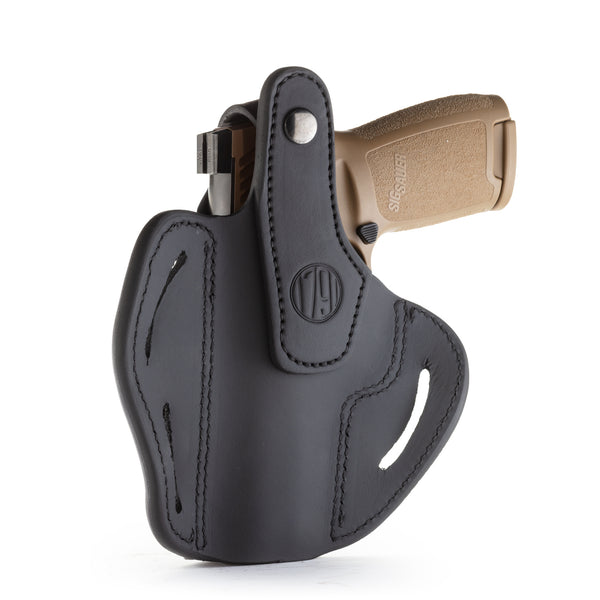 BHx Thumb Break Belt Holster Size 5 Stealth Black Right Hand