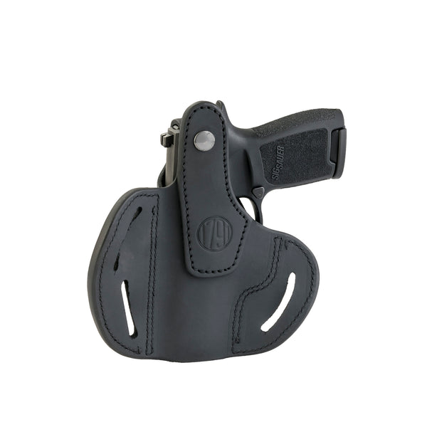 BHx Thumb Break Belt Holster Compact Stealth Black Left Hand