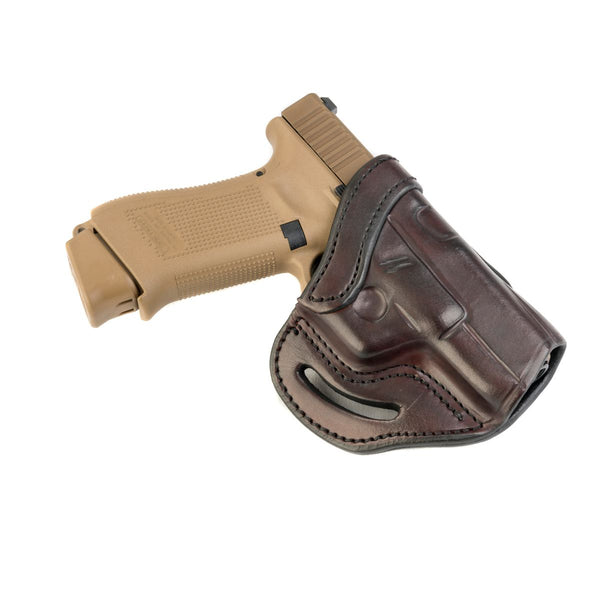 BL1P Belt Slide Holster Signature Brown Right Hand