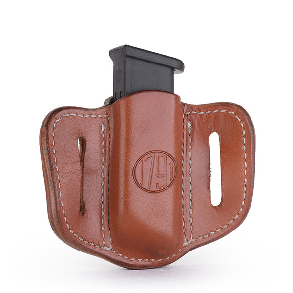 Single Mag Double Stack Classic Brown