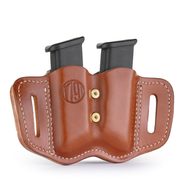 Double Mag for Polymer Double Stack Classic Brown