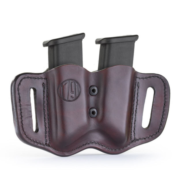 Double Mag for Polymer Double Stack Signature Brown
