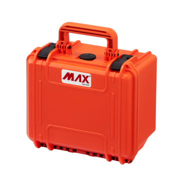 Max Waterproof Polypropylene Case MAX235H155S Cubed Foam 9.25x7.08xH6.14inch