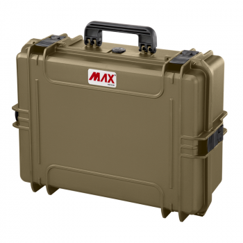 Max Waterproof Polypropylene Case Empty MAX505  19.69x13.78x7.64inch