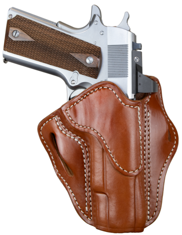 Optic Ready Belt Holster Classic Brown Right Hand Size 1