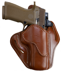 Optic Ready Belt Holster Classic Brown Right Hand 2.4