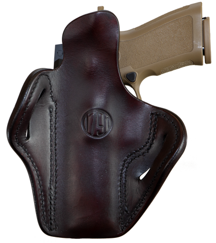 Optic Ready Belt Holster Signature Brown Right Hand 2.4
