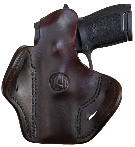 Optic Ready Belt Holster Signature Brown Right Hand 2.4S
