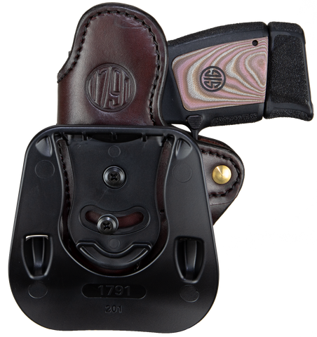 Paddle Holster Stealth Black Right Hand 2.1