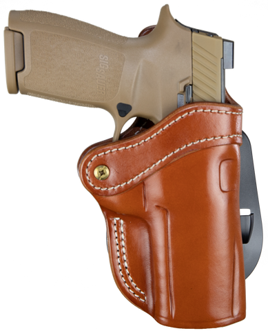 Paddle Holster Classic Brown Right Hand 2.4