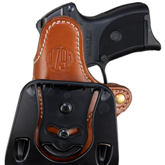 Paddle Holster Classic Brown Right Hand Compact Size