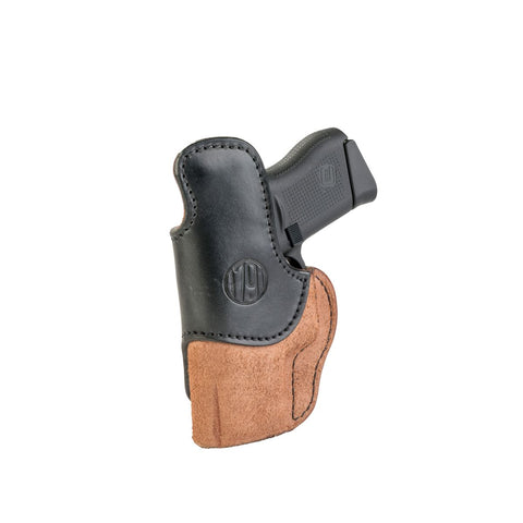 Rigid Concealment Holster Right Hand Brown Size 3