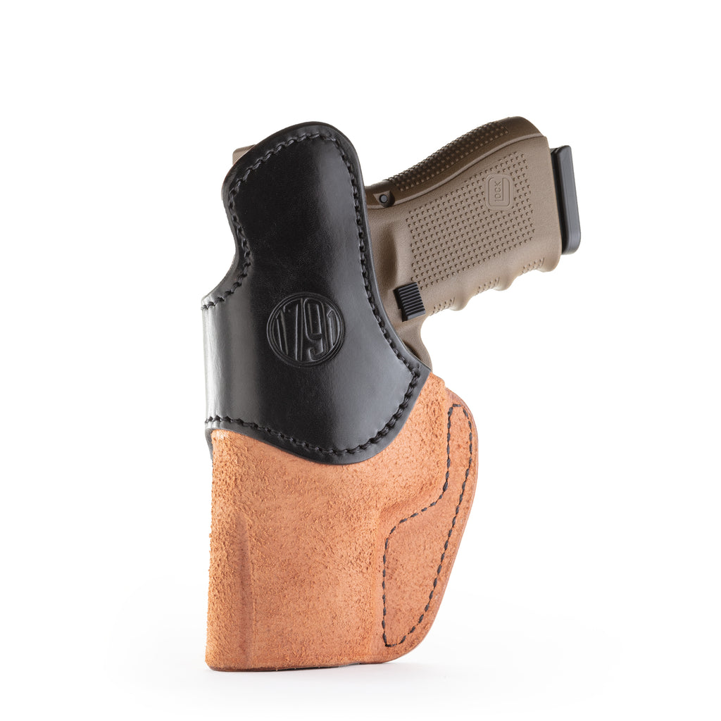 Rigid Concealment Holster Right Hand Brown on Brown Size 5