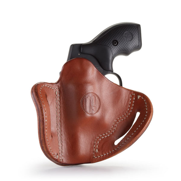 Revolver Holster J Frame Classic Brown Right Hand