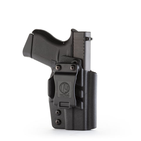 Kydex IWB Holster IWB Glock 43 Black Right Hand