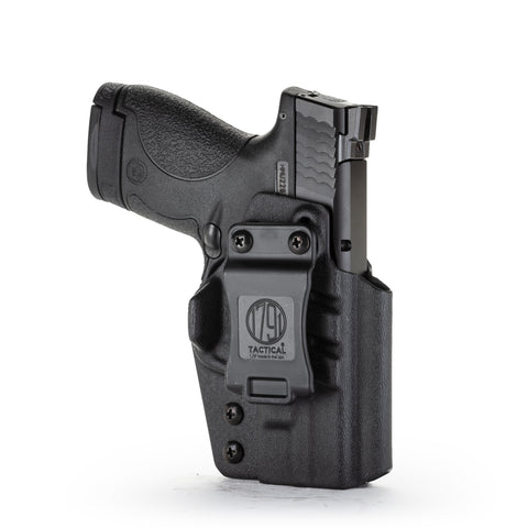 Kydex IWB Holster IWB Shield Black Right Hand
