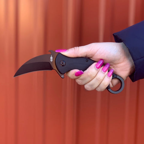 BNB TACTICAL KARAMBIT FOLDER POCKET KNIFE