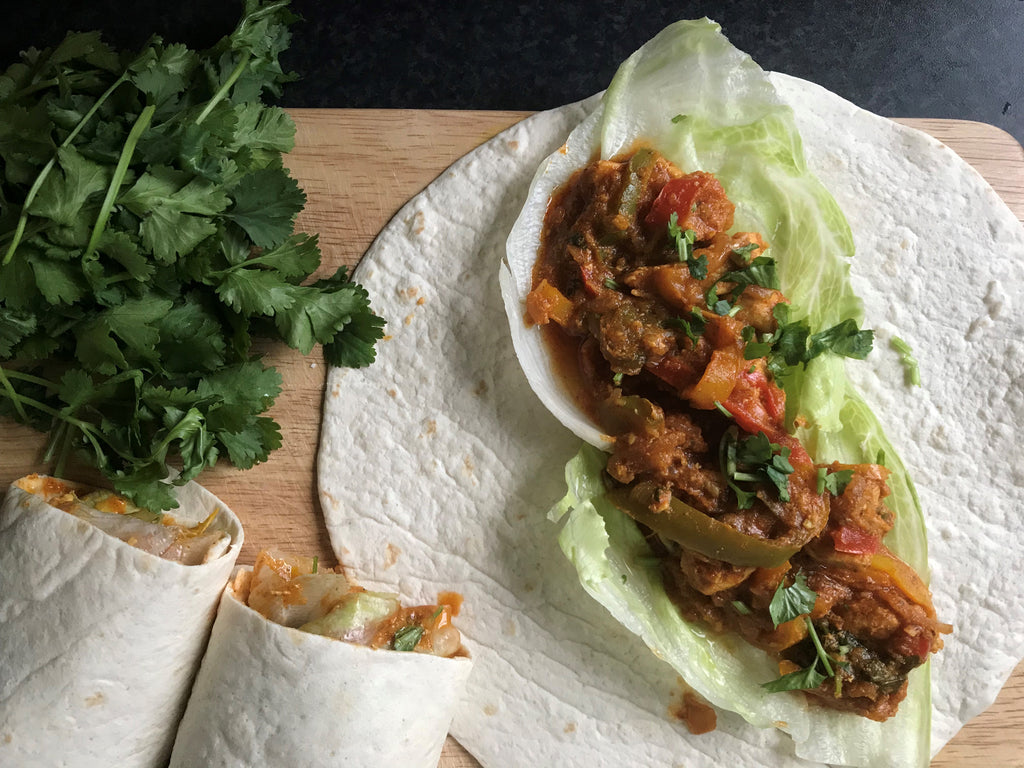 Chicken Curry Wraps Recipe